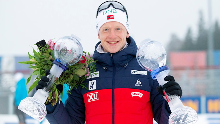 Johannes Thingnes Bö tog ännu en seger på fredagen.