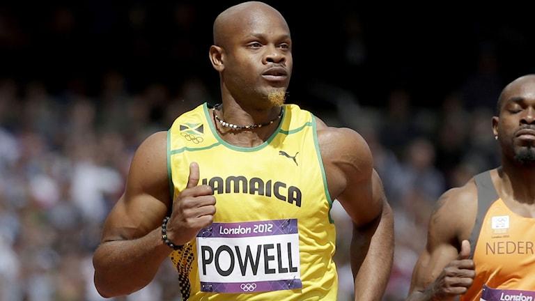 Asafa Powell. Foto: AP/TT