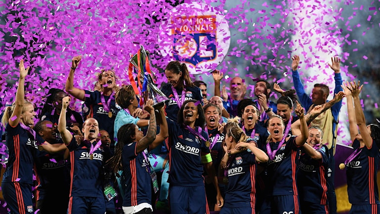 Lyon fick åter fira en Champions League-titel.