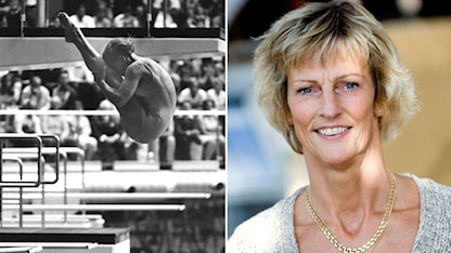 Ulrika Knape vann OS-guld 1972. Foto: TT