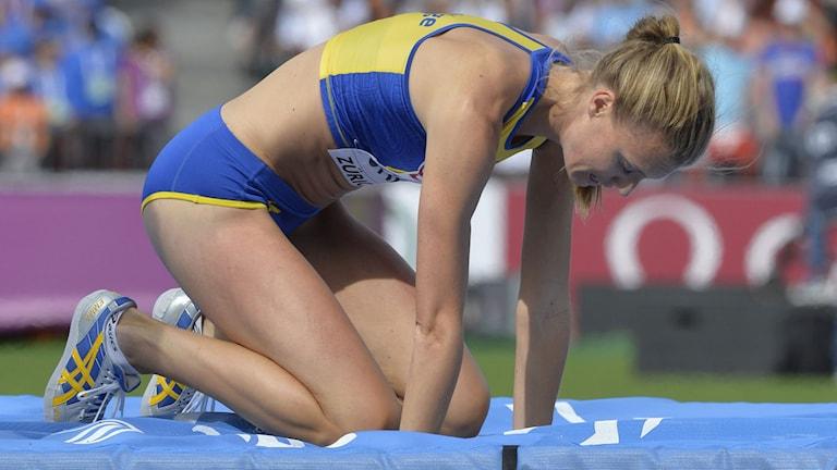 Emma Green i EM-finalen häromåret. Foto: Jonas Ekströmer/TT