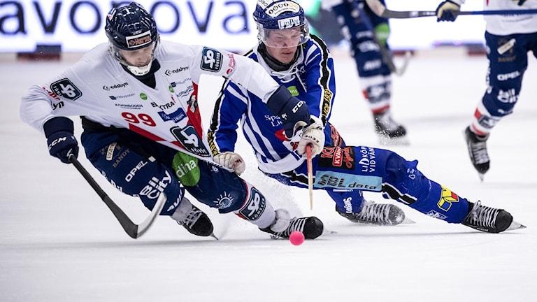 Edsbyns Tuomas Määttä och Villa Lidköpings Felix Pherson