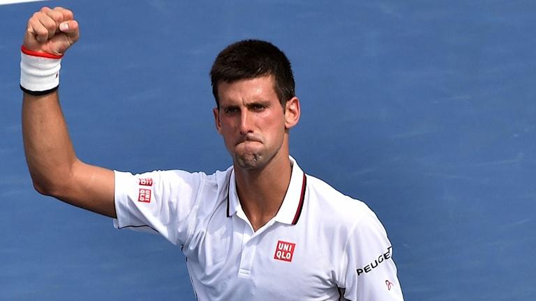 Novak Djokovic, US Open 2014. Foto: Stan Honda/TT.