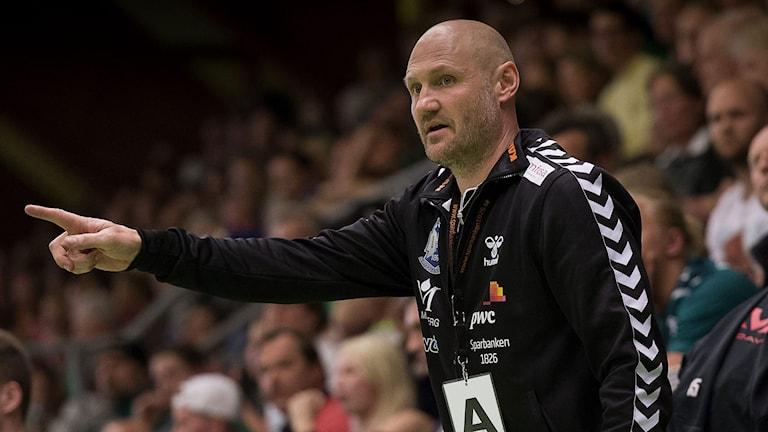 Kristianstads tränare Ola Lindgren. Foto: TT Nyhetsbyrån