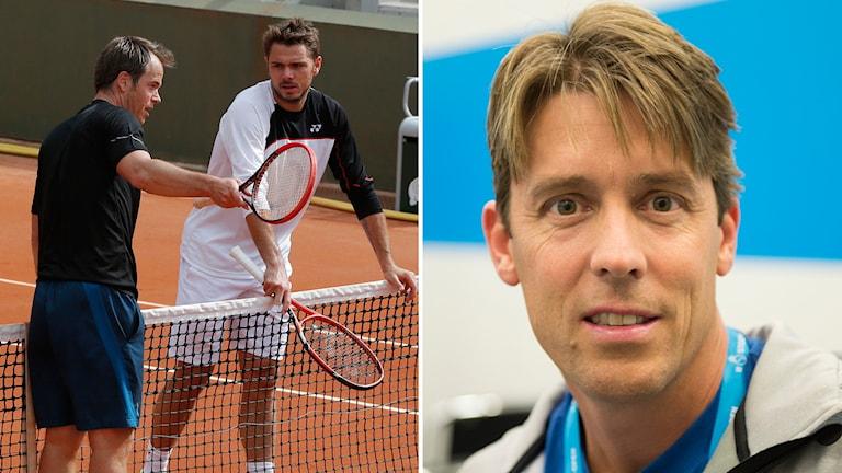 Magnus Norman och Mikael Tillström.