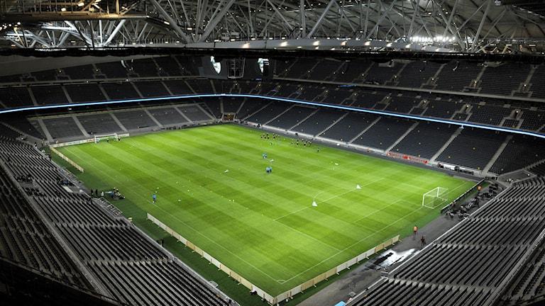 Friends Arena. Foto: TT Nyhetsbyrån