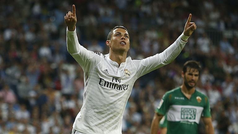 Cristiano Ronaldo. Foto: Andres Kudacki/AP/TT