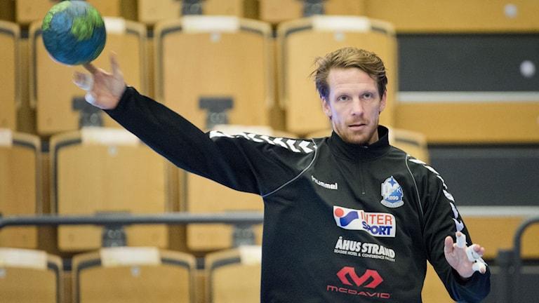 KRISTIANSTAD 20140201 Dan Beutler, målvakt i IFK Kristianstad Foto Rickard Nilsson TT