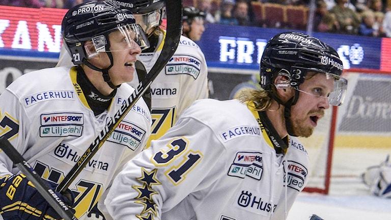 Calle Ridderwall och Mattias Tedenby, arkiv. Foto: Ulf Palm/TT