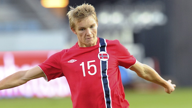 2014, Martin Ödegaard. Foto: TT Nyhetsbyrån