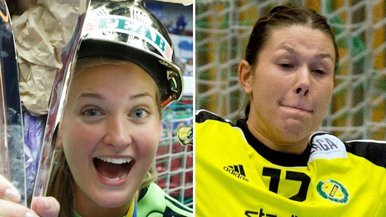 2014, Bundsen till vänster och Idéhn till höger. Foto: TT Nyhetsbyrån