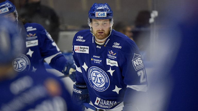 Leksands Mattias Ritola. Foto: Ulf Palm / TT