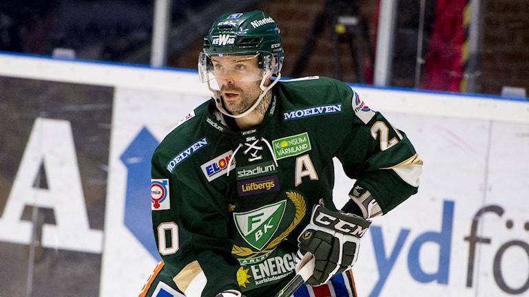 2014, Jakub Klepis avgjorde för Färjestad. Foto: TT Nyhetsbyrån