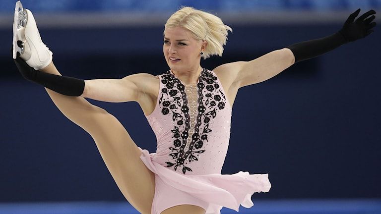 Viktoria Helgesson, arkivbild. Foto: Bernat Armangue/AP/TT