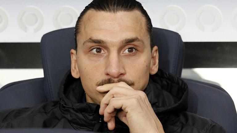 Zlatan Ibrahimovic. Foto: Francois Mori/TT.