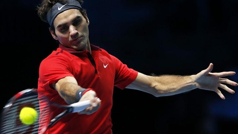 Roger Federer. Foto: Alastair Grant/TT.