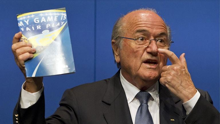 Fifas president Sepp Blatter. Foto: Alessandro Della Bella/AP.