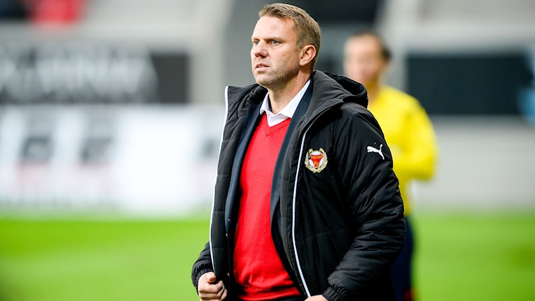 Hasse Eklund under en match i Kalmar. Foto: Patric Söderström/TT