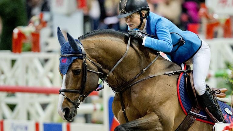 Malin Baryard-Johnsson och hästen Tornesch. Foto: Adam Ihse / TT