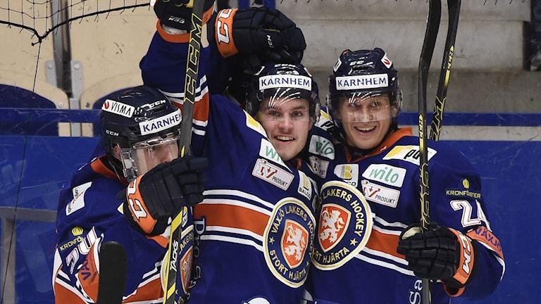 2014, Växjö vann. Foto: TT Nyhetsbyrån
