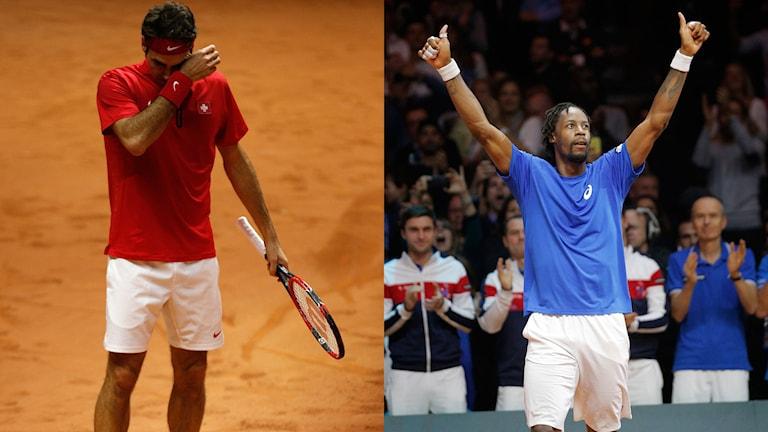 Roger Federer/ Gael Monfils