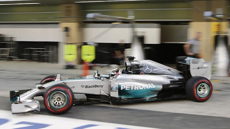 Nico Rosberg i Abu Dhabi