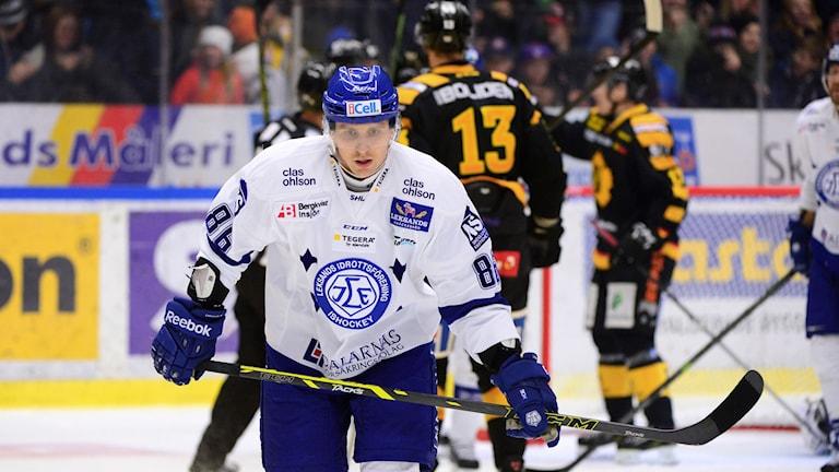 Savinainen lämnar Leksand. Foto:  Robert Granström/TT