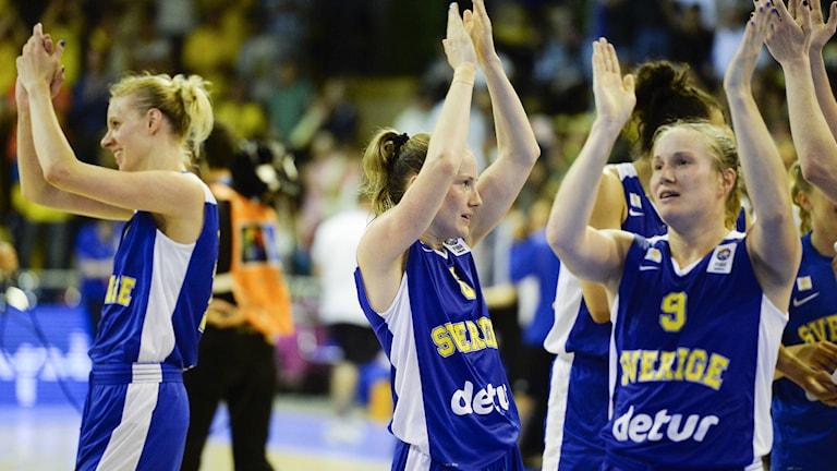 2013, Får svenskorna jubla under basket-EM? Foto: TT Nyhetsbyrån