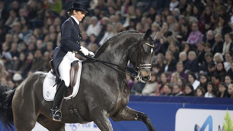 Tinne Vilhelmson Silfvén med Don Auriello.