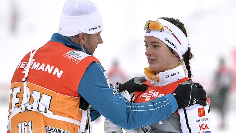 2014, Sofia Henriksson imponerade i VC-debuten. Foto: TT Nyhetsbyrån