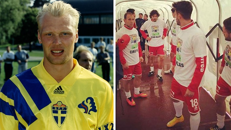 Klas Ingesson hyllades