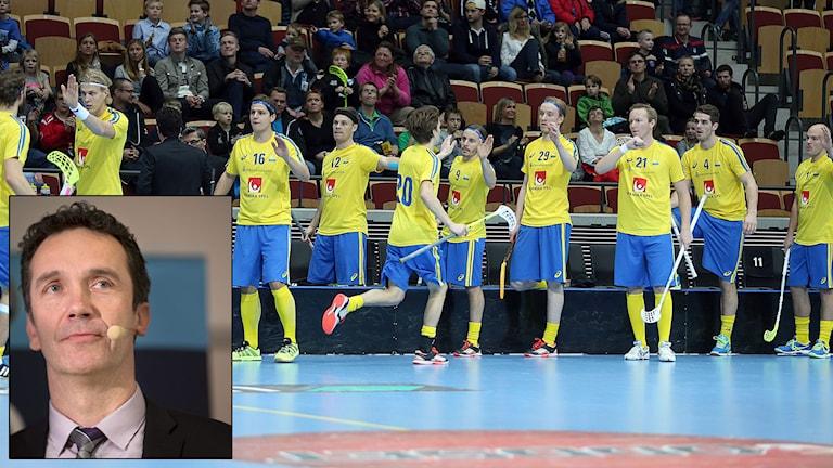 Landslagsspelare och förbundskapten Jan-Erik Vaara. Foto: