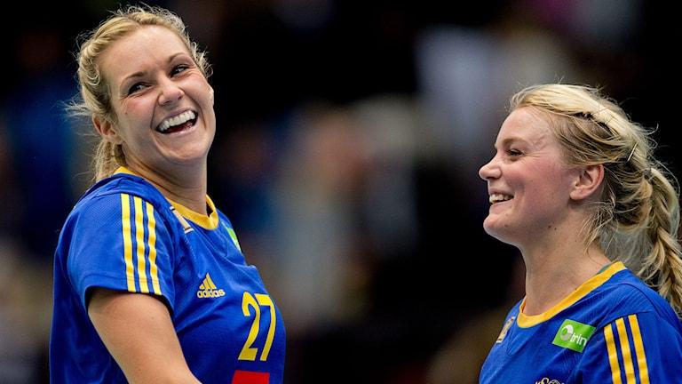 Sabina Jacobsen och Ida Odén