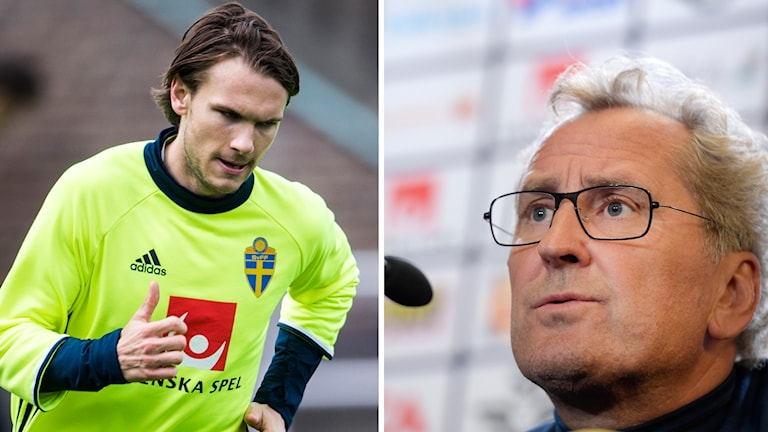 Erik Hamrén och Ekdal.
