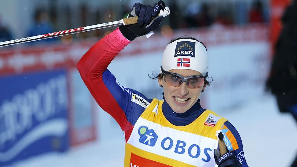 Marit Björgen. Foto: Terje Pedersen/NTB scanpix/TT