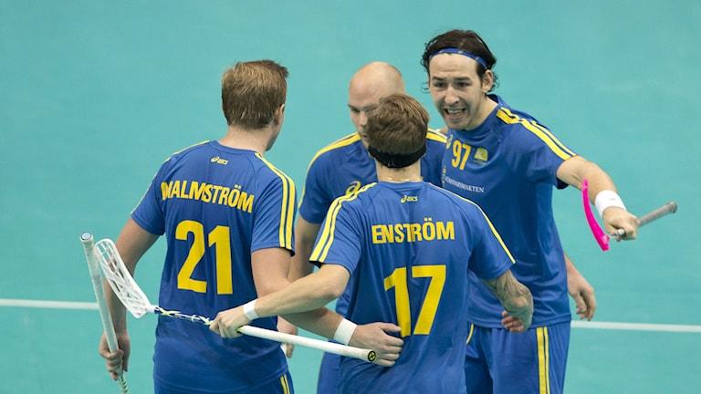 Sverigejubel i VM
