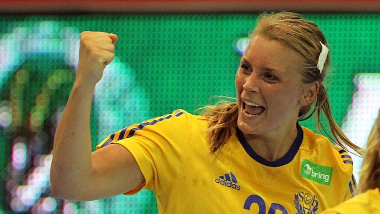 Isabelle Gulldén, arkivbild. Foto:  Aleksandar Djorovic/TT