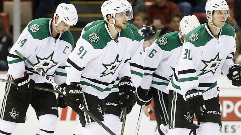 NHL-klubben Dallas Stars hjälper innebandyn att växa i Texas, USA. Foto: Paul Sancya/TT.