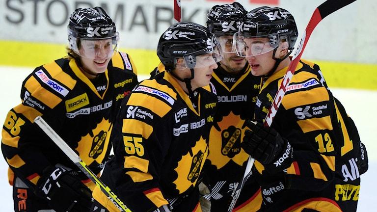 Skellefteå tog sin åttonde raka seger. Foto: Robert Granström/TT