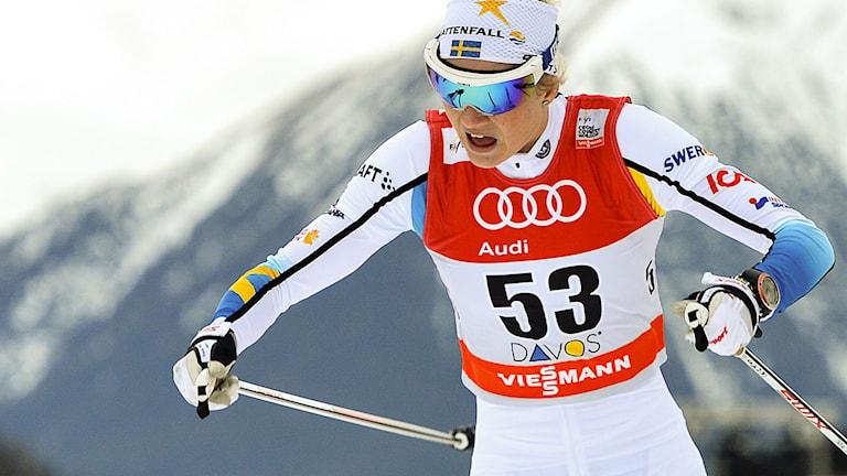 Maja Dahlqvist. Foto: Anders Wiklund / TT.