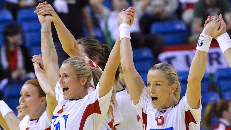 Norge firar semifinal-avancemanget