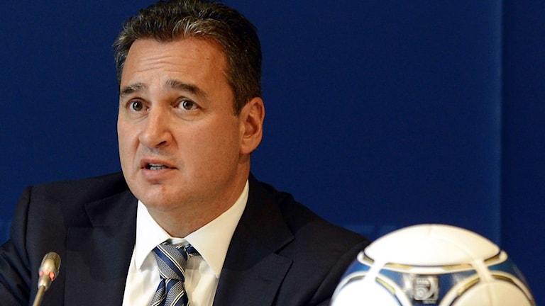 Michael Garcia avgår som Fifas korruptionsutredare. Foto: TT Nyhetsbyrån