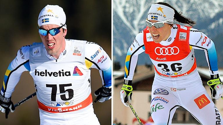 Halfvarsson och Kalla. Foto: TT Nyhetsbyrån