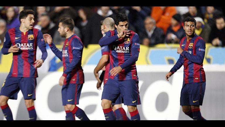 FC Barcelona. Foto: Philippos Christou/AP/TT