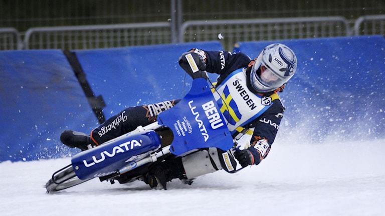 "Sveriges meste isracingförare Per-Olof ""Posa"" Serenius. Foto: Lars Pehrson/svd/Scanpix"