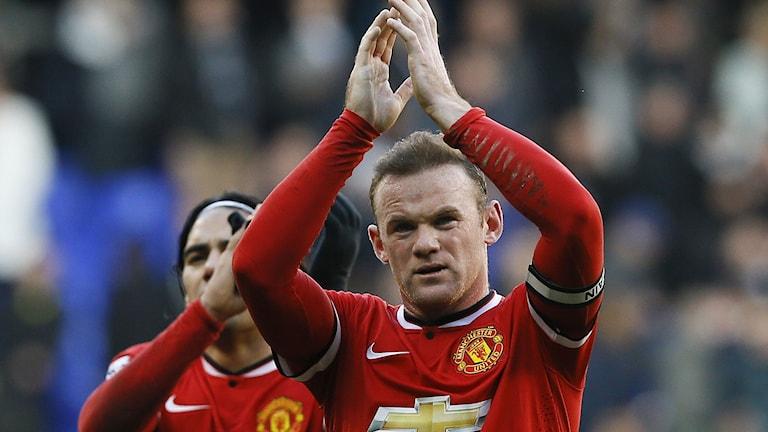 Wayne Rooney, Manchester United. Foto: Kirsty Wigglesworth/TT.