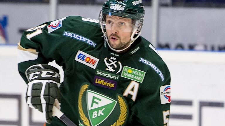 Arkivbild: Rickard Wallin, Färjestad. Foto: Fredrik Karlsson / TT.