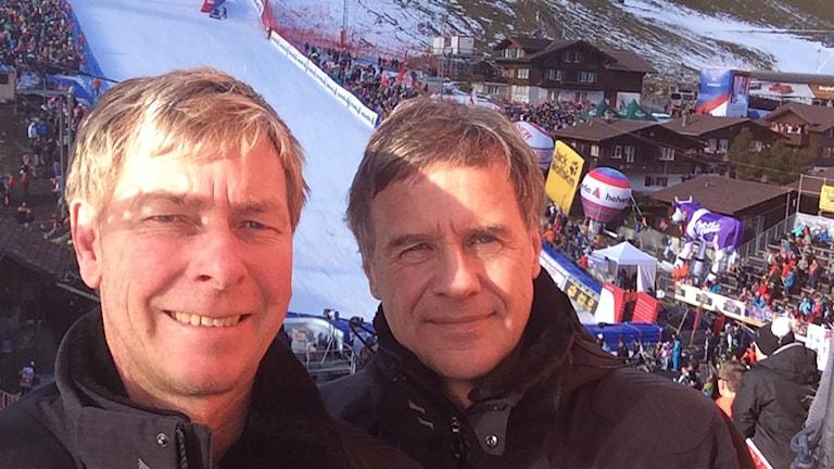 Mats Dahlberg och Torgny Svensson