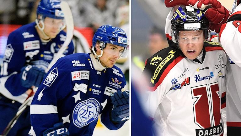 Robin Gartner, Leksand, och Daniel Viksten, Örebro. Foton: TT.
