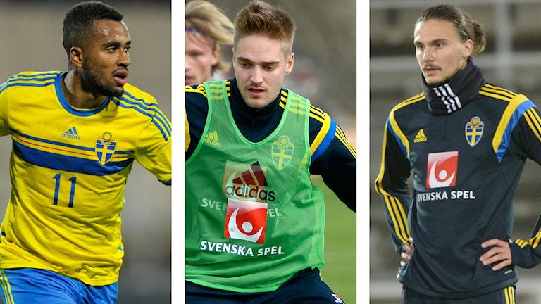 2014, Thelin, Mårtensson och Johansson. Foto: TT Nyhetsbyrån